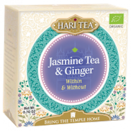 Hari Tea - Jasmine Green Tea & Ginger - With & Without