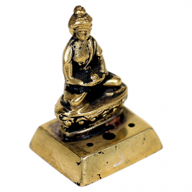 Brucia Incenso Buddha bronzo