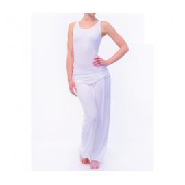 Yoga Pantaloni Comfort Flow bianco S-M