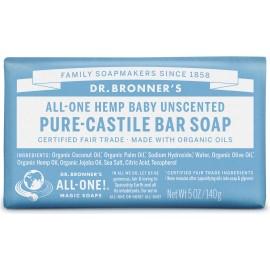 Dr. Bronner's Organico Bar Castiglia Sapone - Baby Lieve