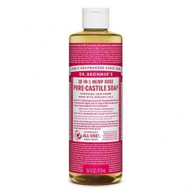 Rosa - Sapone liquido organico - Grande - 473ml