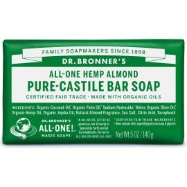 Dr. Bronner's Organico Bar Castiglia Sapone -  Mandorle