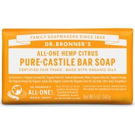Dr. Bronner's Organico Bar Castiglia Sapone - Citrus