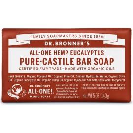 Dr. Bronner's Organico Bar Castiglia Sapone - Eucalyptus