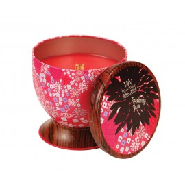 Woodwick Candle Raspberry Yuzu Gallerie Collection