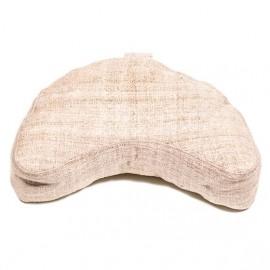 Cuscino Meditazione Canapa Naturale Mezzaluna