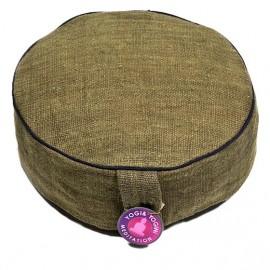Cuscino meditazione Canapa verde