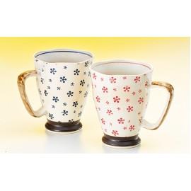"Mug ""Hiroshi"" Ceramics, 2 Assorted"