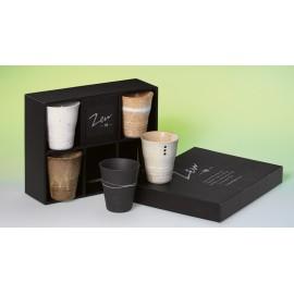 """Servizio di Tazza """"Zen"""" Ceramica Giapponese"""