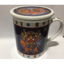 Tisaniera di Porcellana (Ganesh/Durga)