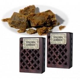 Incenso in resina Ambra in scatola di legno