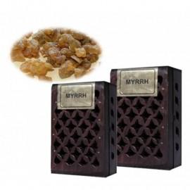Incenso in resina Myrrh in scatola di legno