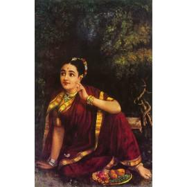 Radha Aspettando Krishna in Kunjwan