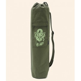 Borsa Yoga Bag Yogi Bag - Olive Ganesha, Cotton