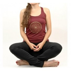 Yoga top Yantra Bordeaux