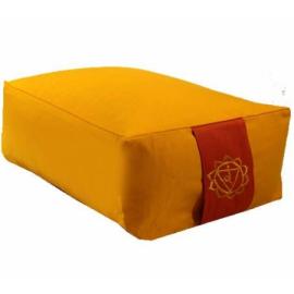 Cuscino Meditazione: 3°Chakra Manipura Giallo