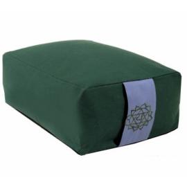Cuscino meditazione: 4°chakra Anahata verde
