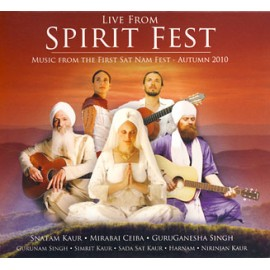 Live from Spirit Fest - Various Artists CD With Snatam Kaur, Mirabai Ceiba, GuruGanesha, Gurunam, and more...