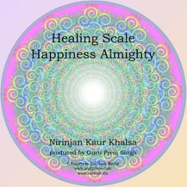 Healing Scale & Happiness Almighty - Nirinjan Kaur CD