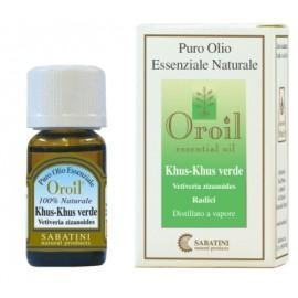 Khuss - Vetiver Verde - Olio Essenziale