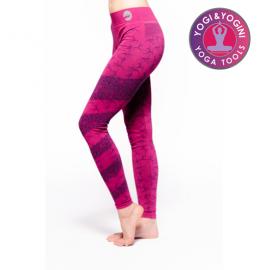 Leggings Yoga Ashtanga Rosa S-M