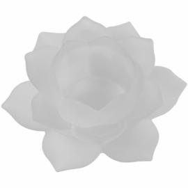 Illuminazione Atmosferica Loto - Vetro - Bianco