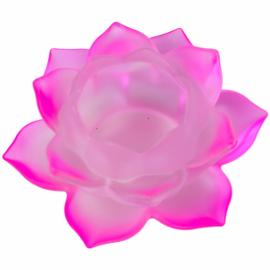 Illuminazione Atmosferica Loto - Vetro - Rosa