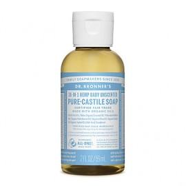 Baby Unscented - Sapone liquido organico - Piccolo - 59 ml