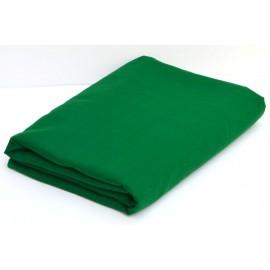 Panno Turbante Voile-fine Verde Scuro- 1 metro