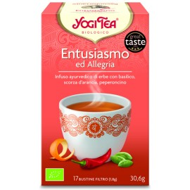 Yogi Tea - Entusiasmo ed Allegria