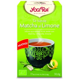 Yogi Tea - Tè Verde Matcha al Limone