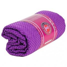 Telo yoga silicone antiscivolo viola
