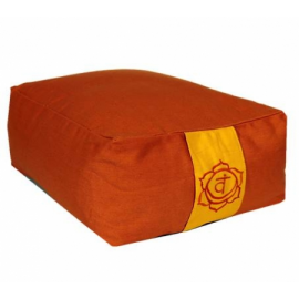 Cuscino Meditaz.: 2°chakra Svadishtana Arancio