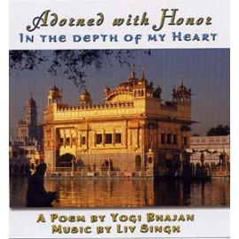 Adorned with Honour - Liv Singh CD
