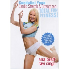 Kundalini Yoga Cardio, Stretch & Strengthen - Ana Brett, Ravi Singh DVD