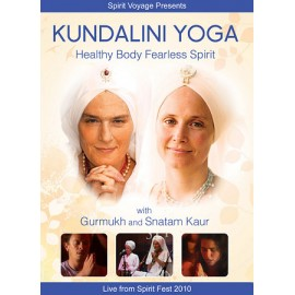 Healthy Body Fearless Spirit - Gurmukh Kaur & Snatam Kaur DVD