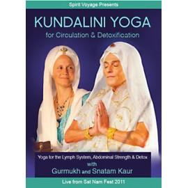 Kundalini Yoga for Circulation & Detoxification DVD